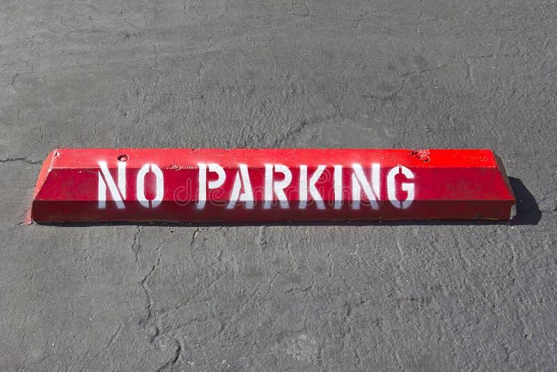 Download No Parking Spot stock image. Image of enforcement, copy - 25222449