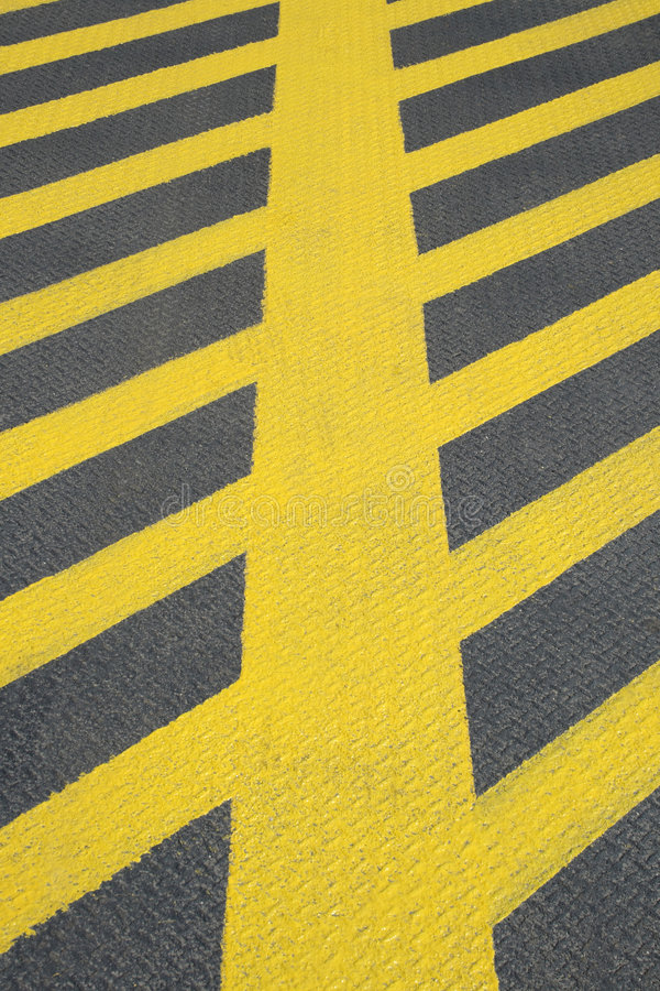 Download No Parking Yellow Road Marking Royalty Free Stock Image - Image: 3021066