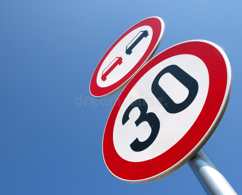 Download No-passing And The Speed Limit Stock Illustration - Image: 24467613