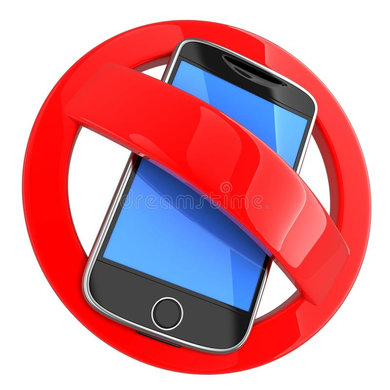 No phone. On white background (done in 3d stock illustration