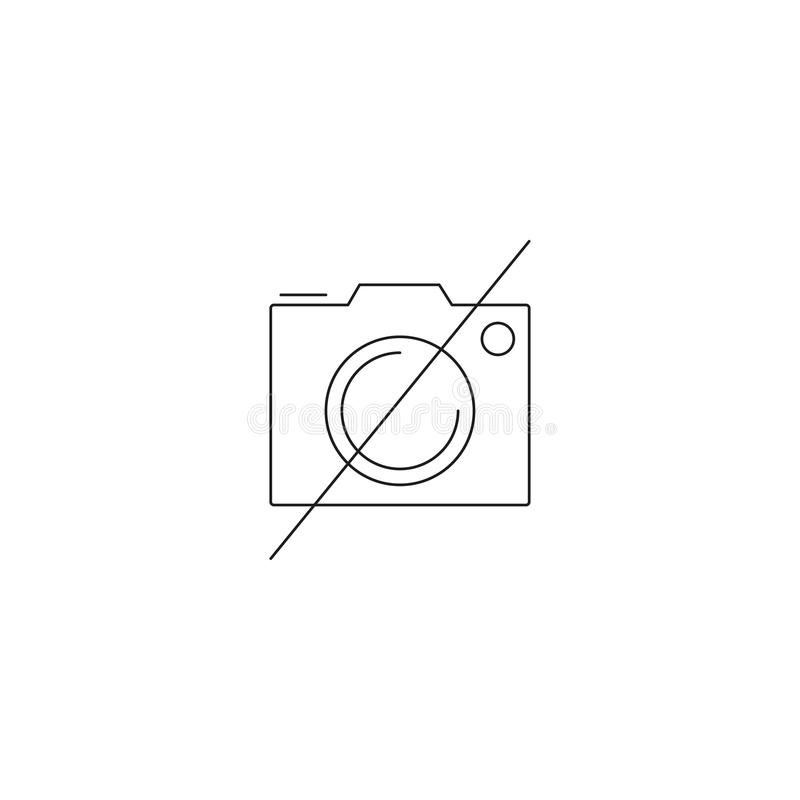 No photography line icon forbidden to use camera outline vector download no photography line icon forbidden to use camera outline vector logo linear pictogram ccuart Image collections