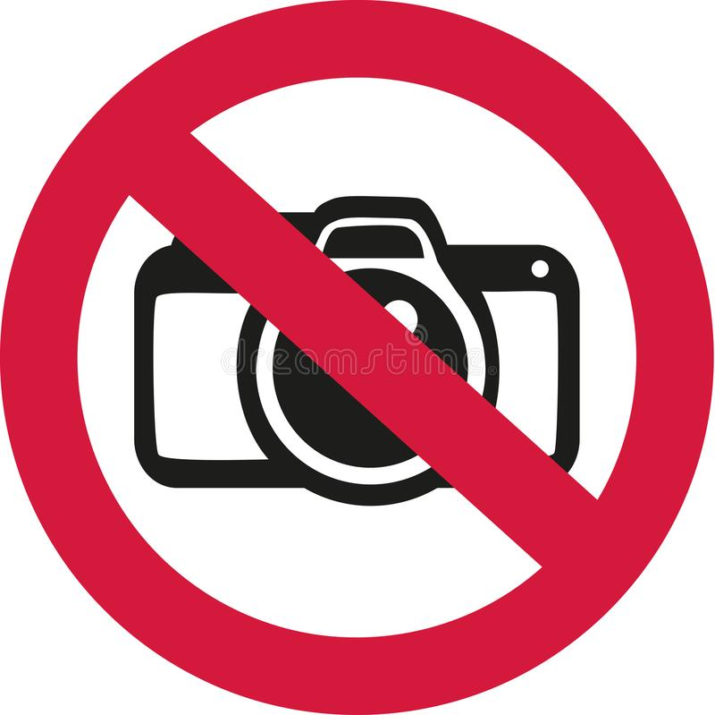 Free No Photos Allowed Stock Images - 107095094