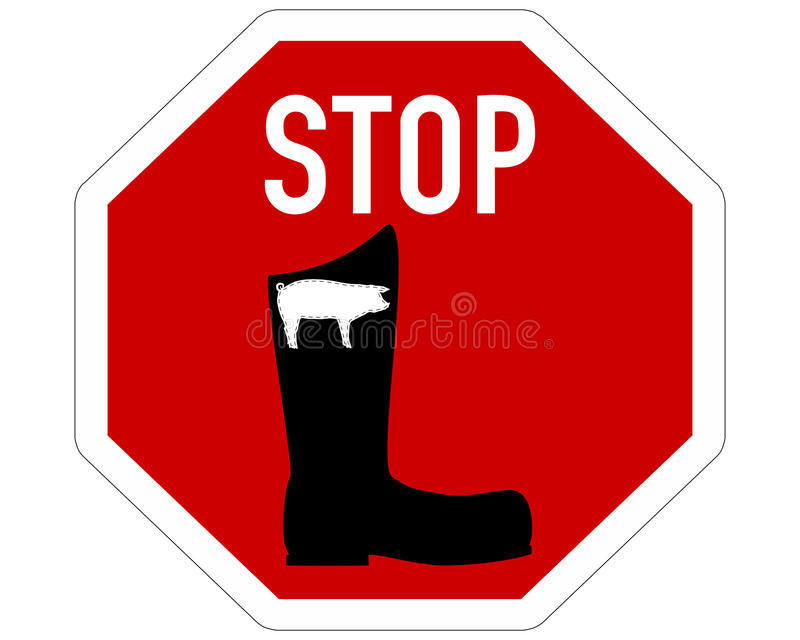 No Pigskin Boots Stock Photo