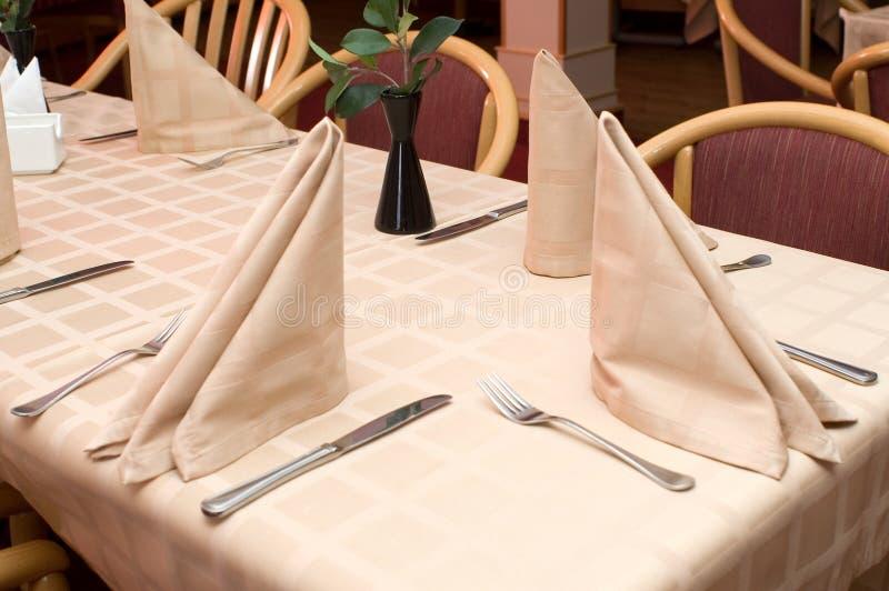 No restaurante foto de stock royalty free