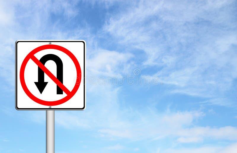 Download No return back road sign stock illustration. Illustration of prohibit - 25795239