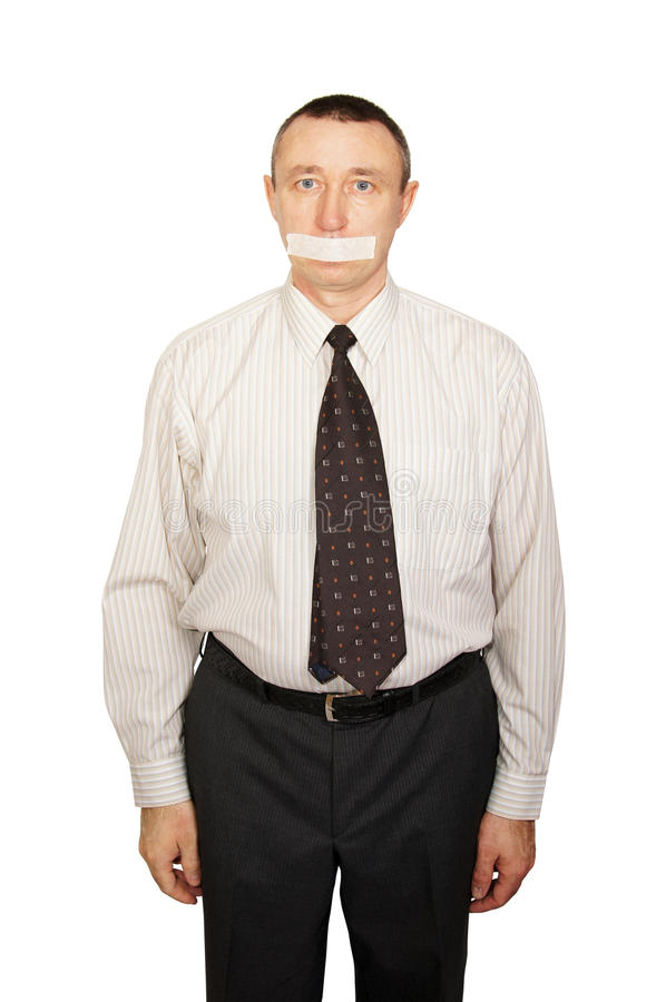 Download No right to voice stock photo. Image of short, office - 24236920