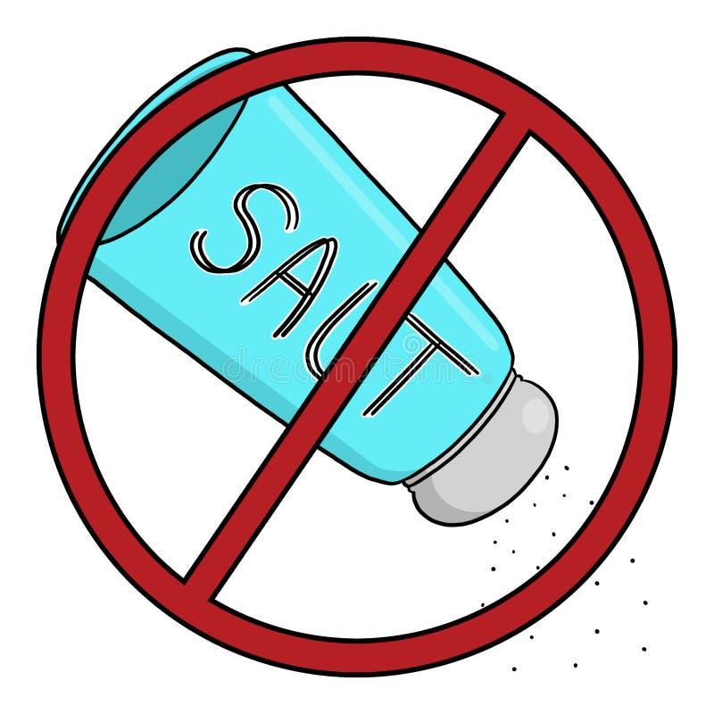 Download No Sodium Illustration; No Salt Diet Stock Illustration - Image: 62362644