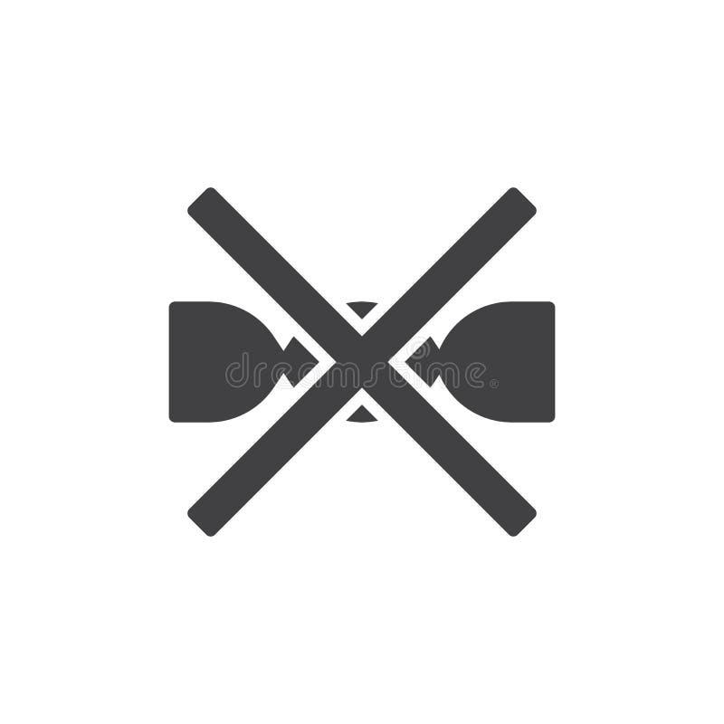 No saque para lavar el icono del vector de la muestra de la m?quina stock de ilustración