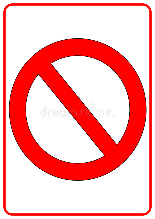 Download No Sign Stock Photography - Image: 6346932