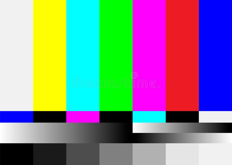 Tv No Signal Background Illustration No Signal Television Screen Graphic Broadcast Design Stock Vector Illustration Of Page Film 124978644