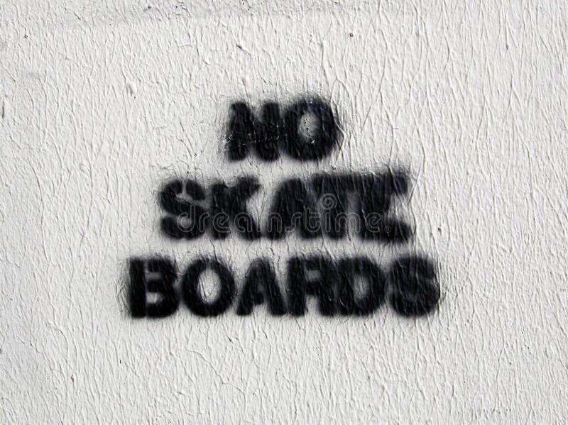 Download No Skate Boards stock image. Image of notice, warning, skate - 20435