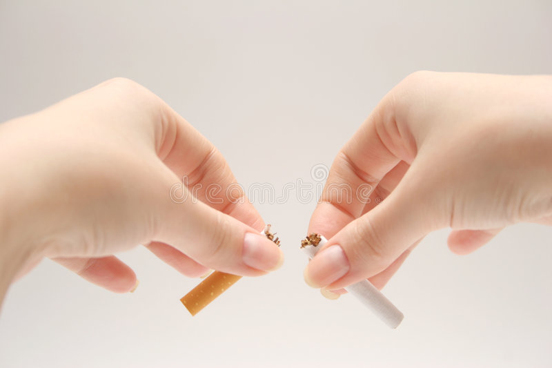 NO SMOKING ! stock photos