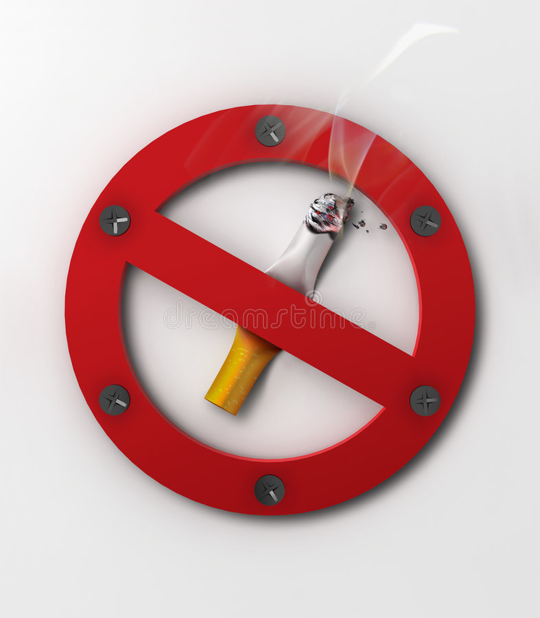Download No smoking stock image. Image of breathing, correction - 7236849