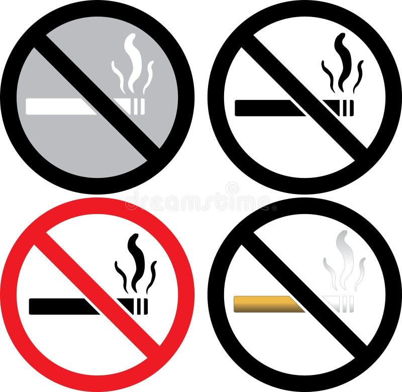 No Smoking Sign Royalty Free Stock Photos