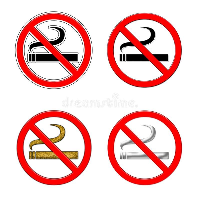 Download No smoking sign stock illustration. Image of road, forbidden - 18002059
