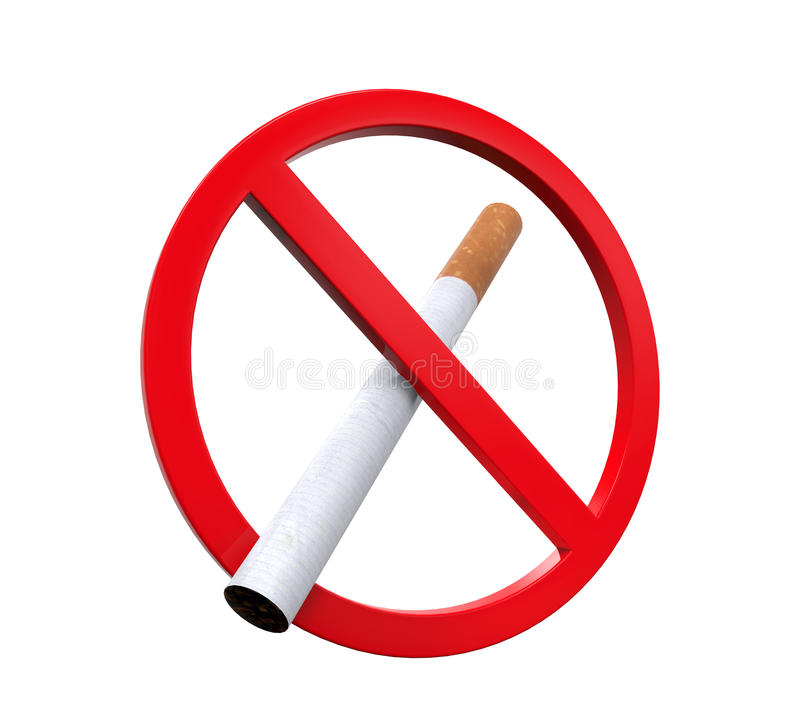 Download No Smoking Sign stock illustration. Image of notice, icon - 36749769