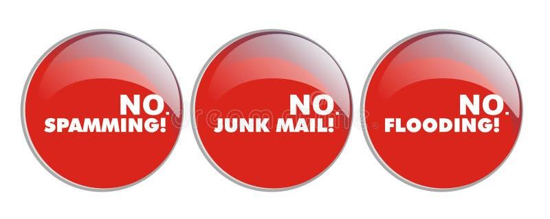 Download No Spamming, No Junk, No Floding Stock Photo - Image: 5650390