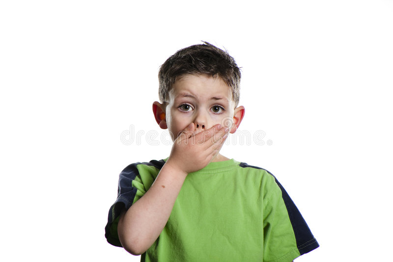 Download No Taking stock photo. Image of cover, mouth, youth, gestures - 9338212