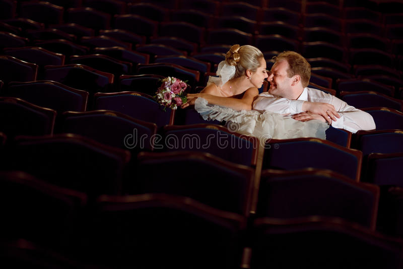 No teatro imagem de stock royalty free