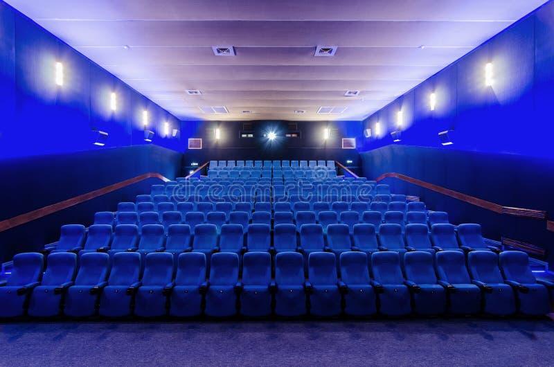 No teatro do cinema imagem de stock royalty free