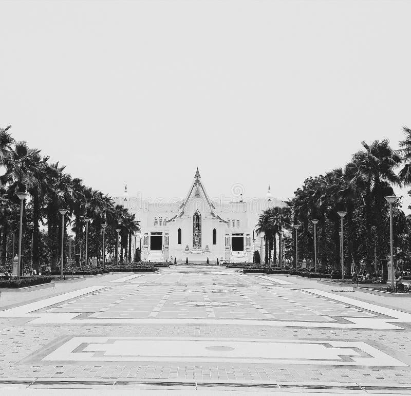 No templo fotografia de stock