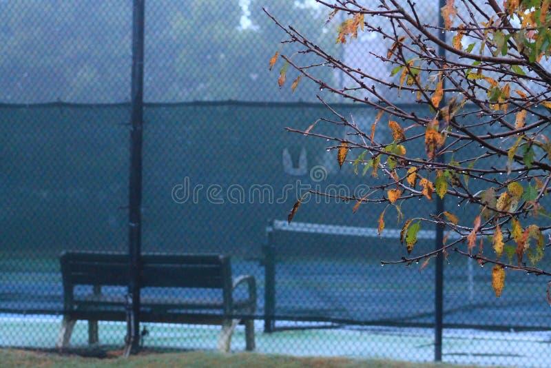No tennis today royalty free stock photo