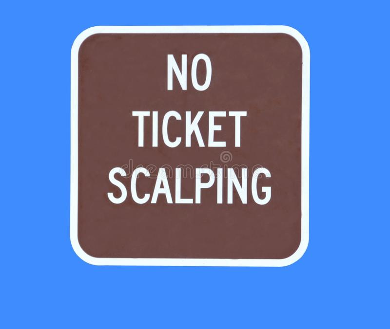 Download No ticket scalping stock photo. Image of restricting - 22399378