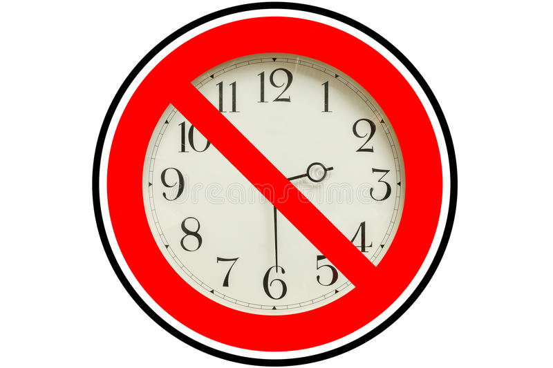 Stop the time royalty free stock photo
