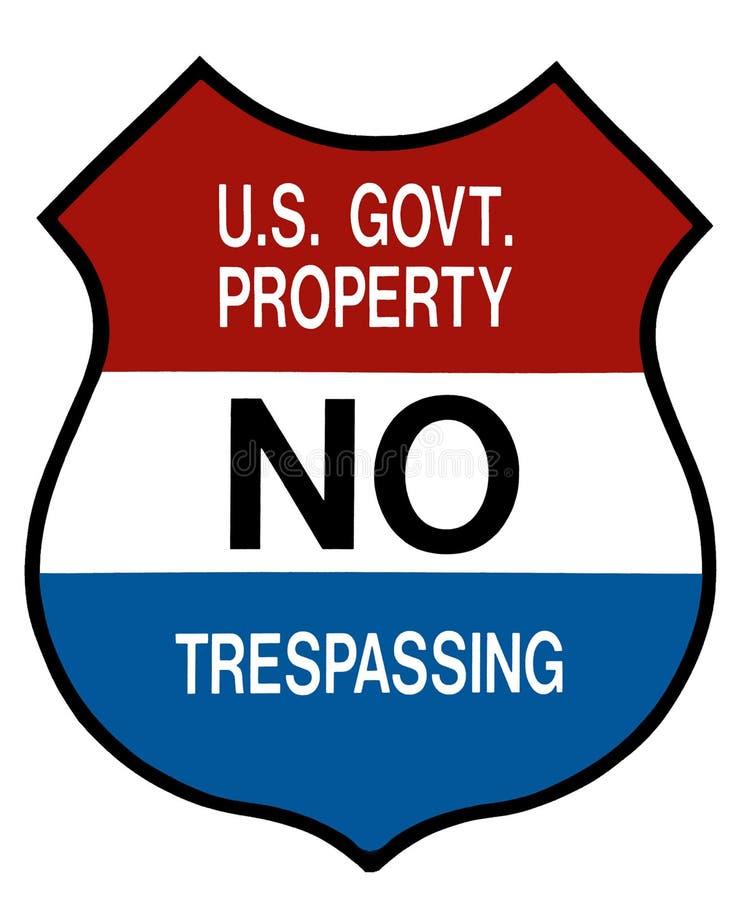 No Trespassing Signs Stock Illustrations – 10 No Trespassing