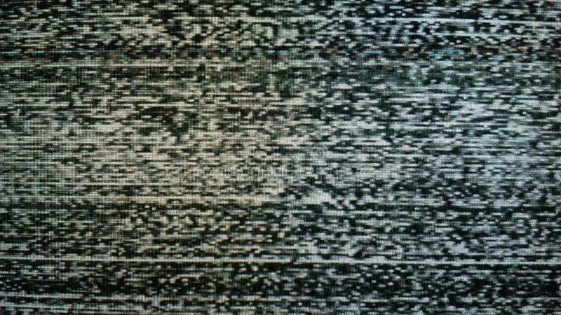 No TV signal, interference, television noise. Background use royalty free stock images