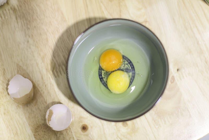 No un huevo hervido en cuenco libre illustration