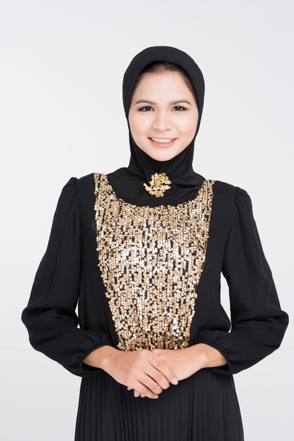 No vestido do abaya fotos de stock royalty free
