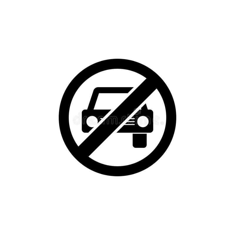 No video camera ban, prohibition, embargo, forbiddance icon. Simple thin line, outline  of Ban icons for UI and UX, website stock illustration