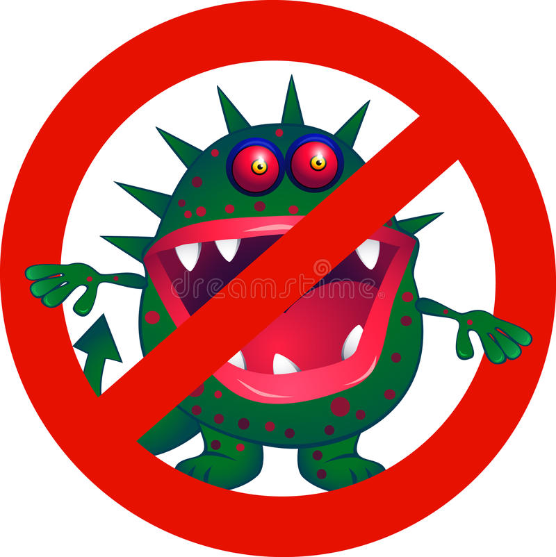 Download No Virus stock vector. Image of doctor, microbe, ugly - 10371222