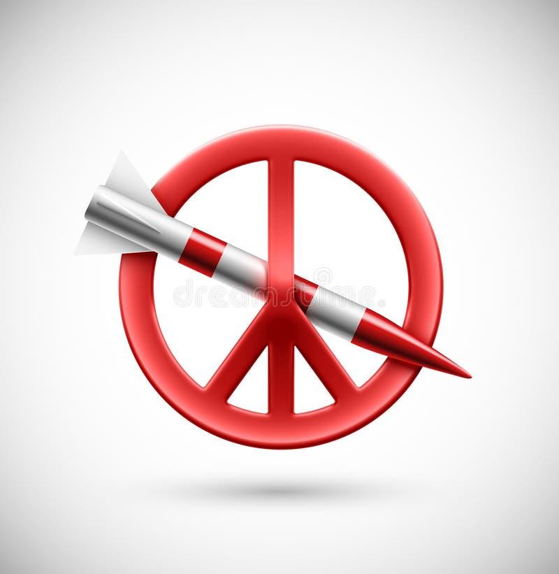 No war vector illustration