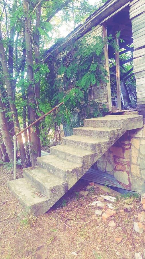 No where stairs stock photo