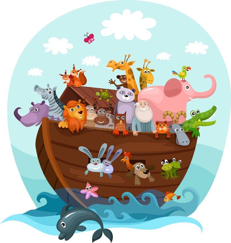 Noah Arka ilustracja wektor