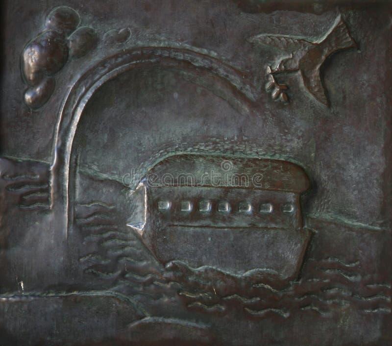 Noah Flood-Geschichte lizenzfreie stockfotografie