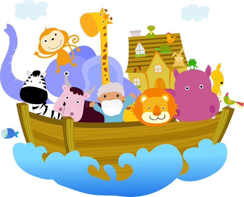 Download Noah's Ark stock vector. Image of church, bethlehem, holy - 18946401