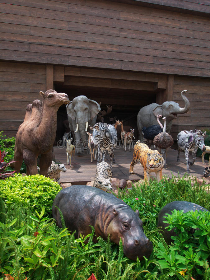 Noah's Ark. In Ma Wan Hong Kong royalty free stock photography