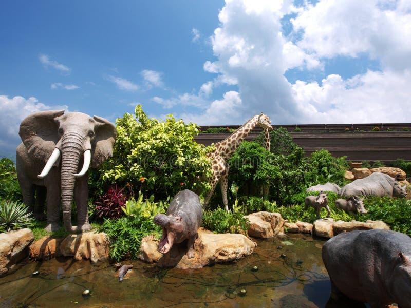 Noah's Ark. In Ma Wan Hong Kong royalty free stock image