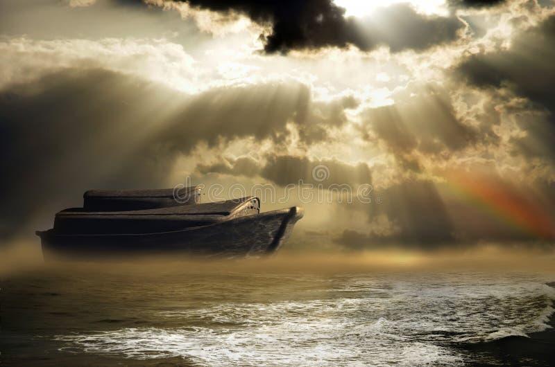 Noah's ark royalty free illustration