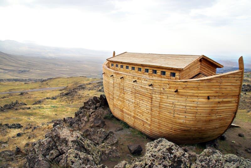 Noah's Ark. On Mount Ararat vector illustration