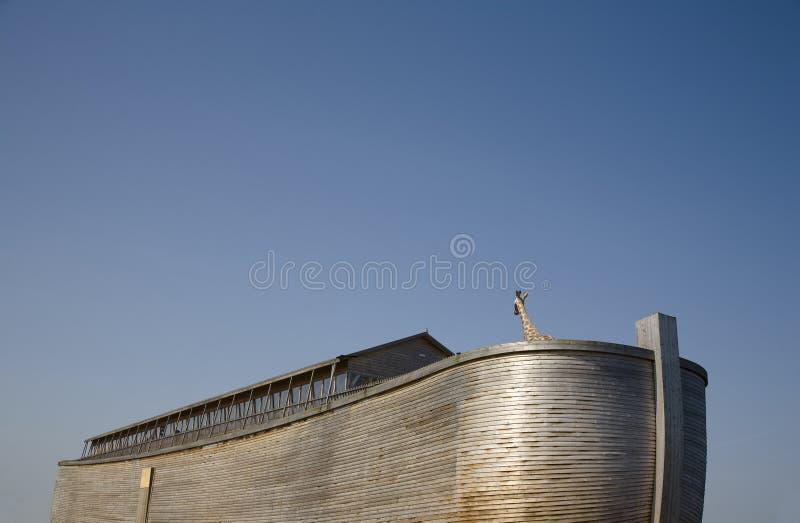 Noah's Ark 5. Replica of Noah's Ark build in Holland stock image
