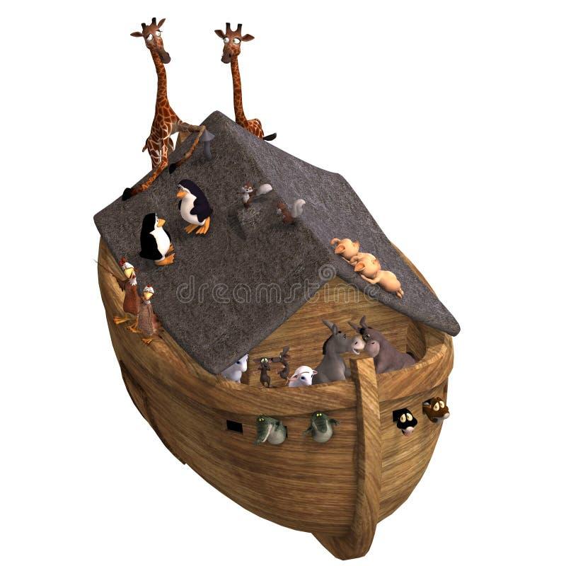 Download Noah's Ark stock illustration. Illustration of illustration - 8316866