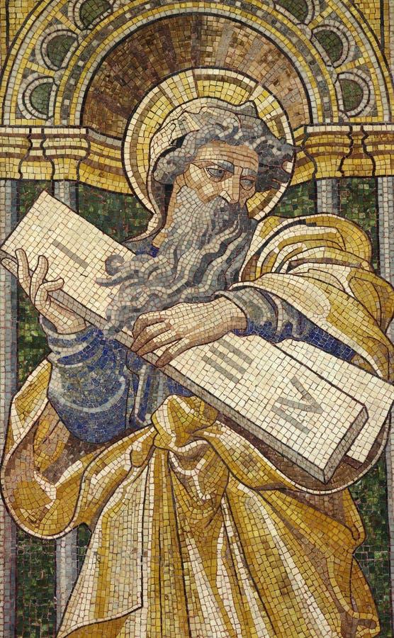 Noah y los diez mandamientos fotografía de archivo libre de regalías