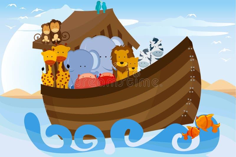 Noahs Arche vektor abbildung