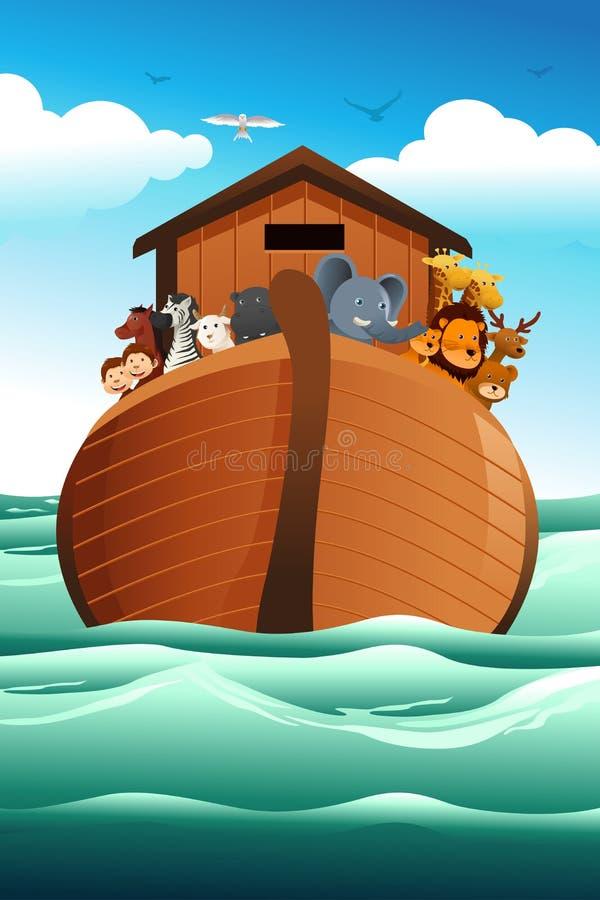 Noahs ark. A vector illustration of Noahs ark vector illustration