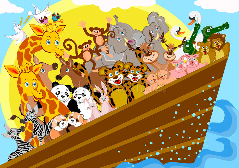 Noah Ark vector illustration