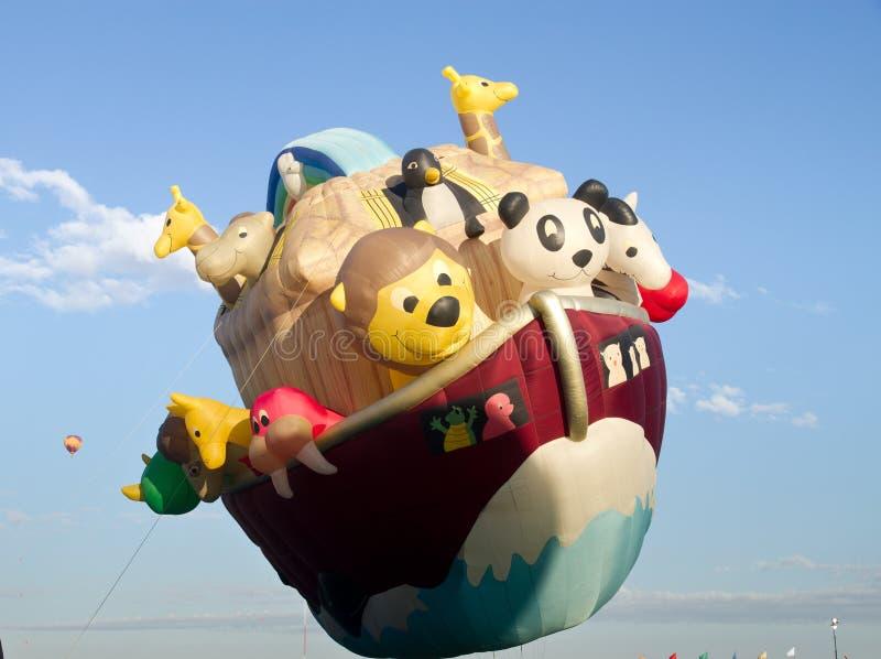 Noahs Arkballong arkivfoto